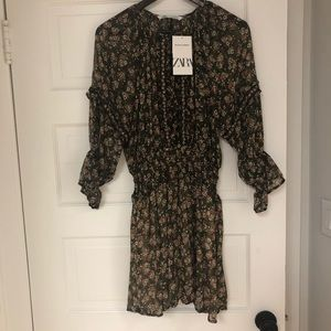 Zara Dresses - Zara Floral Print Dress